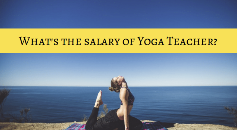 salary of yoga teacher